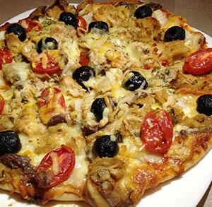receta gratis pizza atun isabel naturfresh
