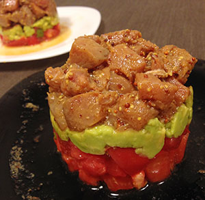receta gratis tartar tomate atun aguacate