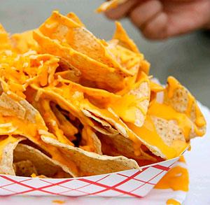 receta gratis dip bacon queso nachos