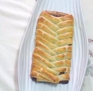 receta postre expres trenza chocolate