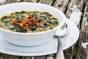 receta facil sopa de col patata y panceta