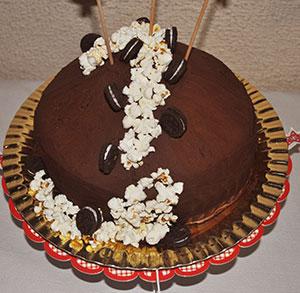 receta facil tarta de chocolate sin leche cumpleaños