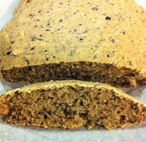 receta facil pan integral de aceitunas y tomillo