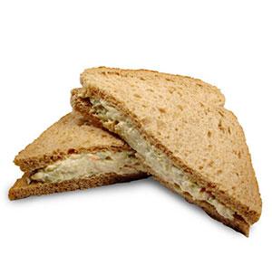 receta facil sandwich atun y maíz