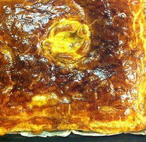 receta facil empanada de bacalao y pasas