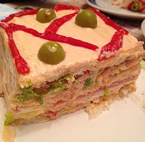 receta facil sandwich gigante vegetal