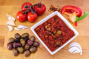 receta facil salsa puttanesca