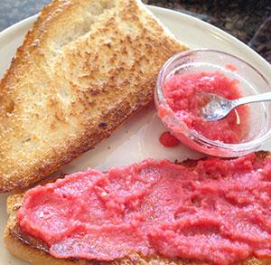 receta facil de Pan con tomate