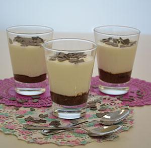 receta facil Mousse de Queso con crema de Cacao DisfrutaBox