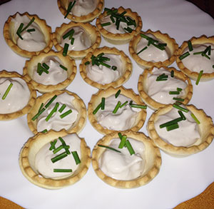 receta facil tartalestas crema de anchoas